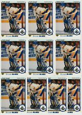CURTIS JOSEPH STAR ROOKIE 10 CARD RC LOT 1990-91 UPPER DECK # 175 US & FRENCH