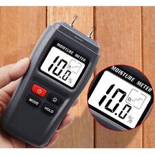 4-pin LCD Digitale Legno 5/% 40/% Igrometro Umidità Umido Rilevatore Tester