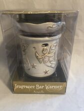 TUSCANY CANDLE FULL SIZE WAX WARMER WITH ANGELS AND STARS~~NIB