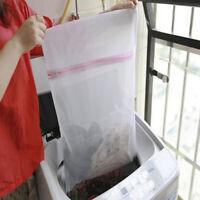 HN- KE_ 1PC Durable Clothes Bra Laundry Mesh Bags Reusable Mesh Net Washing Pouc