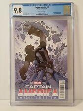 Captain America 25 CGC 9.8 Adam Hughes 1:50 Variant Avengers 1st Sam Wilson Cap