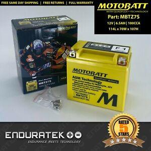 MOTOBATT MBTZ7S - (YTZ7S / GTZ7S / YTX5L-BS / Yuasa GTX5L-BS / RTX5)