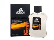 Adidas Deep Energy Men 3.4 oz 100 ml *Eau De Toilette* Spray New in Box