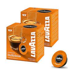 32 X LAVAZZA A MODO MIO ESPRESSO delizioso 100% ARABICA capsule di caffè BACCELLI NUOVO