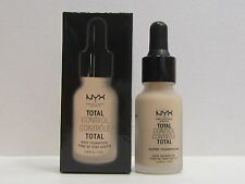NYX Total Control Drop Foundation color TCDF02 Alabaster 0.43 oz New In Box