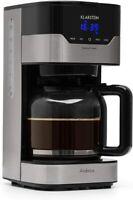 Klarstein Arabica Cafetera Potencia 900W Capacidad: 1,5 L Intensidad Regulable