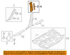 MAZDA OEM 17-18 CX-5 Interior-Upper Center Pillar Trim Left KB7W6821075