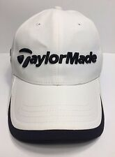 TaylorMade R1 RBZ White Cap Hat Adult Adjustable 100% Nylon