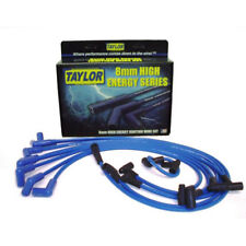 Taylor Spark Plug Wire Set 64602; High Energy 8mm Blue 90° for Chevy V8