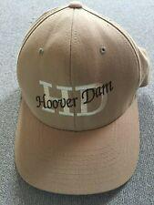 Hoover Dam Beige Cap Hat Size S - M