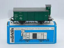 BOXED Marklin #4679 HO Scale Wurttemberg Era I Goods Car w/Brakeman's Cab