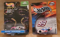 Two Factory Sealed NASCAR Hot Wheels Jeff Burton 1:64 Scale Diecast Replicas