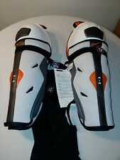 "Nike Air V10 Senior L Hockey Goalie Shin Guards 15"" Brand New with tags"