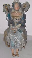"$4600 Gillie Charlson Ooak ""Princess Twokay"" 2000 Fairy Doll w/Chair England"