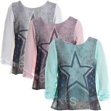 Mädchen-Tops, - T-Shirts & -Blusen aus Mischgewebe