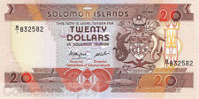 Solomon Islands 20 Dollars 1986 Unc Pn 16a