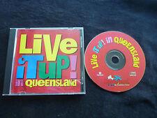 LIVE IT UP IN QUEENSLAND RARE AUSSIE TOURISM CD! BRISBANE GREVILLE PATTERSON