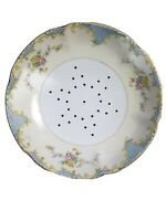 Noritake Vintage Rare Berry Bowl - Footed Floral Bowl with Drainage Holes