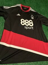 Nottingham Forest 2016-18 Away Adidas Soccer Jersey Size Xl