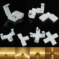 10/20 2Pin PCB Corner Connector For Single Color 3528 5050 5630 Led Strip Lights
