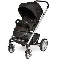 Joie Chrome Plus Single Seat Pushchair - Black Carbon