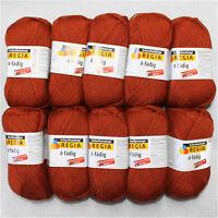 5x100g Regia 4-Fach⭐ Fuchs ⭐ 2748 Sockenwolle Schachenmayr Wolle stricken Socken