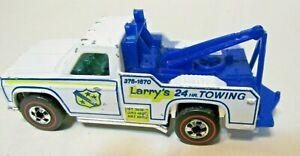 Hot Wheels Redline RAMBLIN' WRECKER Larry's Tow w/ phone VG+ Cond
