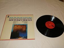 Hark the Herald Angels sing Don Janse Chorale voices LP Album RARE Record vinyl