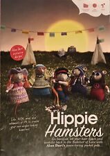ALAN DART'S HIPPIE HAMSTERS KNITTING PATTERN