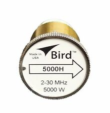 Bird 5000H Plug-in Element 0 to 5000 watts for 2-30 MHz for Bird 43 Wattmeters