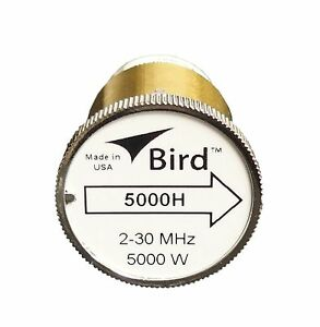 Bird 5000H Plug-in Element 0 to 5000 watts for 2-30 MHz for Bird 43 Wattmeters