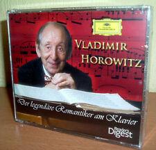READER'S DIGEST - VLADIMIR HOROWITZ - Der legendäre Romantiker am Klavier  (NEU)