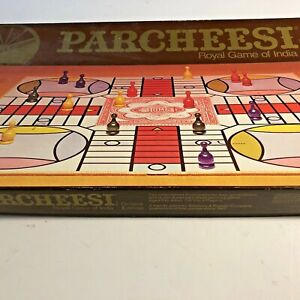 GB82 Board Game Deluxe NO. 2 1975 PARCHEESI Selchow & Righter No Missing Pieces