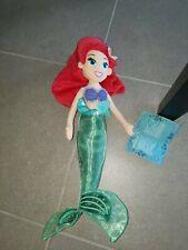 "Disney Parks Little Mermaid Ariel 20"" Plush Doll Nwt"