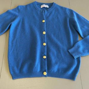 Vintage Ballantynes of Pebbles Cashmere Sweater Sz 40