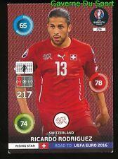 278 RICARDO RODRIGUEZ SUISSE CARD ADRENALYN ROAD TO UEFA EURO 2016 PANINI O