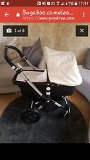 Black and cream bugaboo cameleon 3 excellent condition with cybex carseat