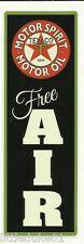 """TEXACO FREE AIR "" Sticker / Decal VINYL Garage Promo Service Station OIL PETROL"