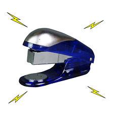 Electric Shock Toy Blue Stapler Office Prank Joke Funny Trick Novelty Gag Gift