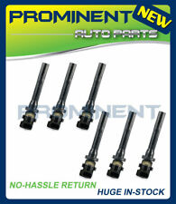 Pack of 6 Ignition Coil For 99-04 Chevy Tracker 98-07 Suzuki Vitara Aerio UF237
