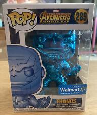 Funko Pop Marvel: Thanos #289 Walmart Exclusive - Blue Chrome Infinity War