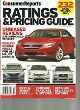 CONSUMER REPORTS,  RATING & PRICING GUIDE, OCTOBER, 2012 ( UNBIASED REVIEWS )