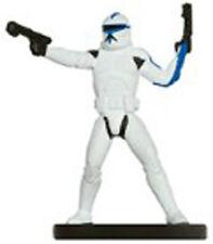 Star WARS MINIATURES C 501st clone trooper 28/40 carbone