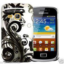 Dura cubierta trasera Clip en caso de la piel para Samsung S6500 Galaxy Mini 2 + Sp