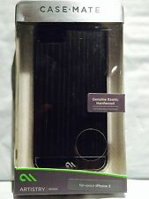 Case-Mate  Artistry Series Case for Apple® iPhone® 5 and 5s Black Ash Wood