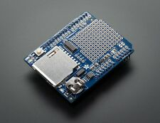 Adafruit Assembled Data Logging shield for Arduino- includes stacking headers!