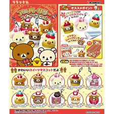 Re-Ment Sanrio San X Rilakkuma 10th Anniversary Sweets Mascot Strap Full Set