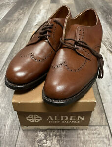 Vintage Deadstock NIB Alden New England derby dress shoes 13 A Made in USA