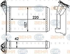 Wärmetauscher Innenraumheizung HELLA 8FH 351 000-511 für BMW E30 3er Touring 315