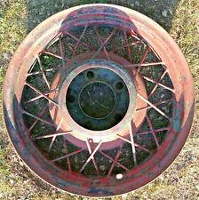 1933 1934 Ford Original Oem 17 X 325 Inch Wire Spoke Wheel 5on55 Rim 33 34